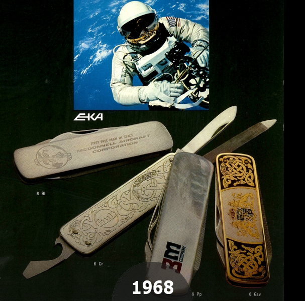 1968 Classic 6 the first EKA knife in space