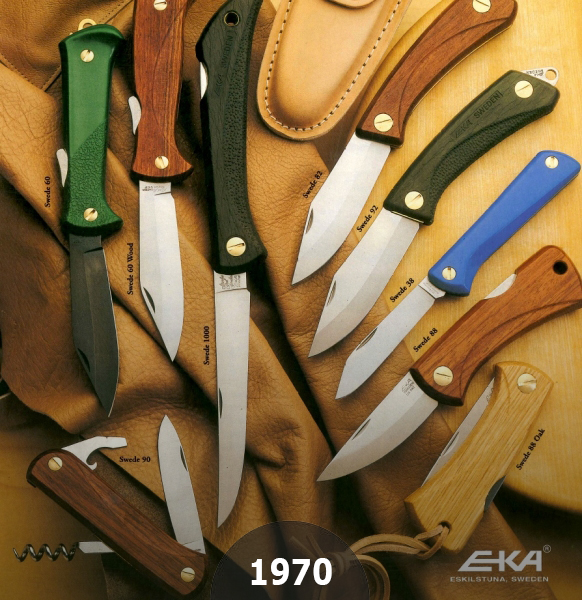 1970 The birth of EKAs Swede Series a Royal Family of Swedish Knives